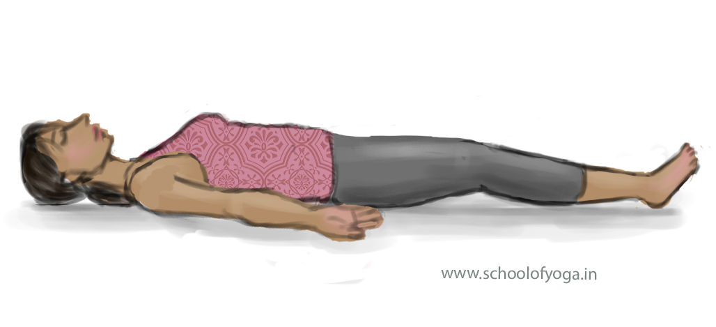 Shavasana – Corpse Pose – School of Yoga